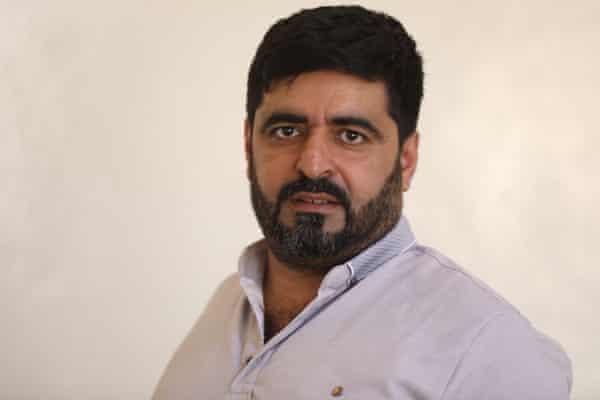 Aid worker Bakri al-Obeid.