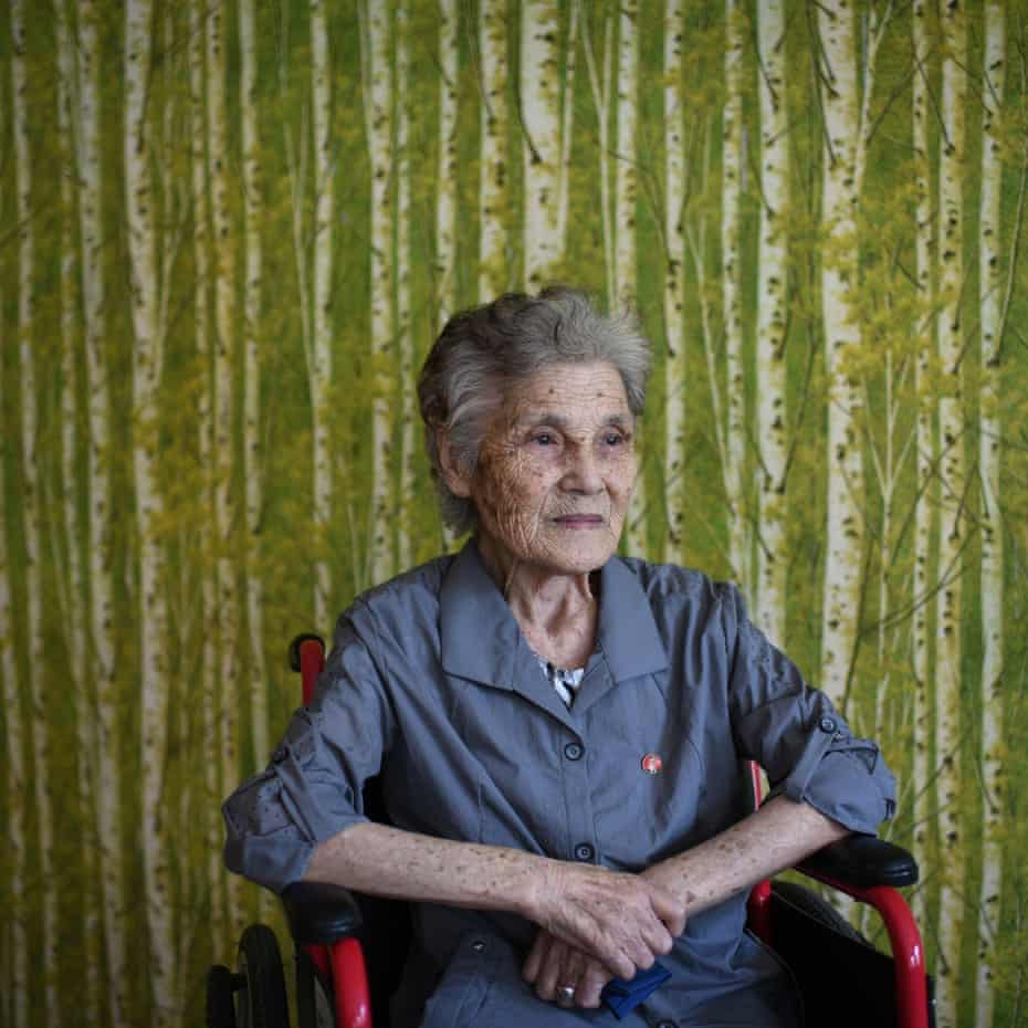 Aiko Nakamoto (87) moved to North Korea in 1960. Since then she has been unable to visit Japan