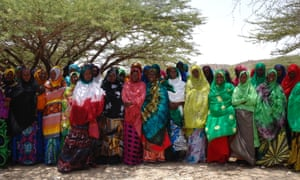 Women's Collective leading humanitarian response in Gorgeysa, Somaliland.