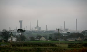 The Sellafield nuclear plant.