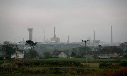 Sellafield nuclear plant, Cumbria.