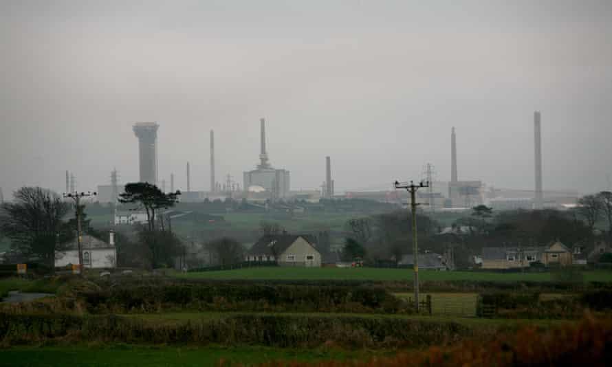 Sellafield nuclear plant, Cumbria, UK.