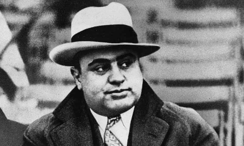 Capone was released from prison in 1939 in poor health, and retired to his mansion in Palm Island, Miami, where he died in January 1947.