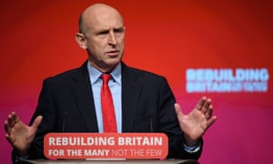 Shadow housing secretary John Healey
