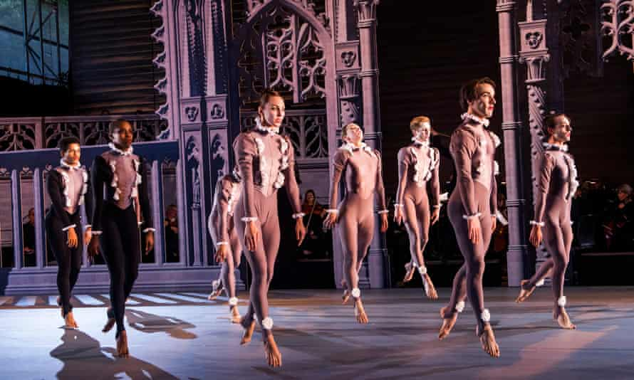 Garsington Opera's The Creation, with dancers from the Rambert company.
