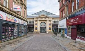 Bolton Market Place shopping centre.