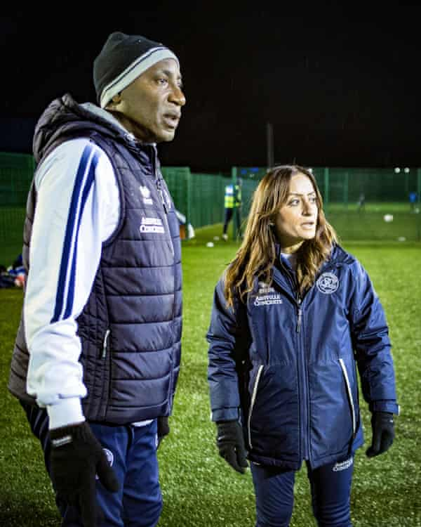 Manisha Tailor credits QPR's head of coaching Chris Ramsey with helping her progression.