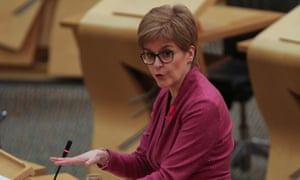 Nicola Sturgeon's appeal to Boris Johnson to waive the tax on the bonus was rejected by the Treasury.