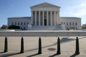Donald Trump has publicly announced his hope that the presidential election will be decided in the US supreme court, to which he appointed three justices.