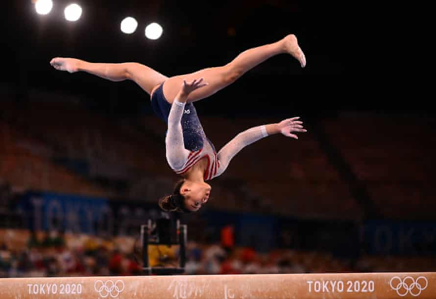 Sunisa Lee won all-around gymnastics gold for the USA after the favourite, Simone Biles, withdrew.