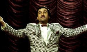 Robert De Niro in The King of Comedy.