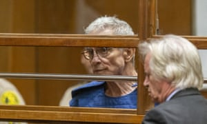 Ed Buck appears in court in Los Angeles Thursday, 19 September 2019.