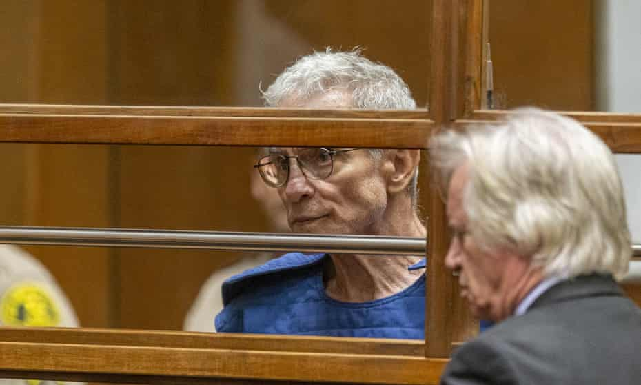 Ed Buck appears in court in Los Angeles Thursday, 19 September 2019.