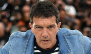 Career high: Antonio Banderas at Cannes for Almodóvar's Pain and Glory.