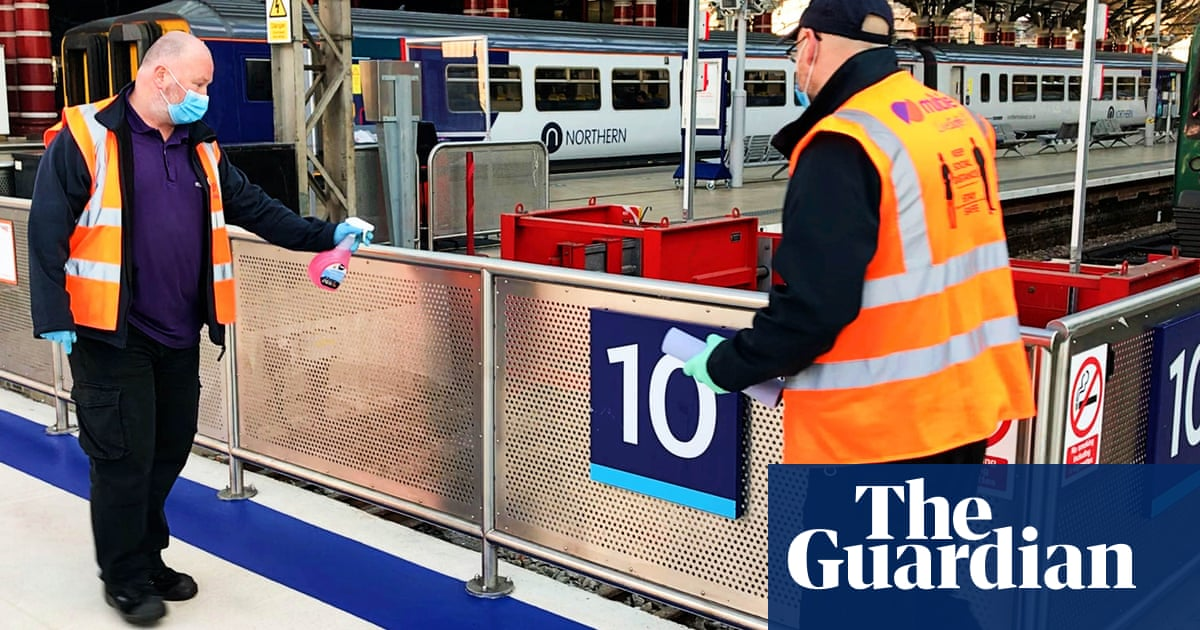 No traces of coronavirus found in tests at major English railway stations
