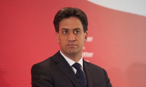 Ed Miliband Guardian supports labour