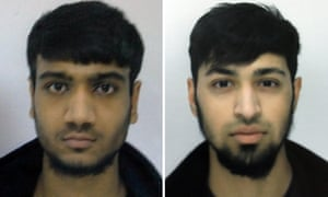 Hassan Munshi (left) and Talha Asmal, who left Dewsbury for Syria to join the Islamic State. Asmal blew himself up in Iraq, becoming Britain's youngest suicide bomber.