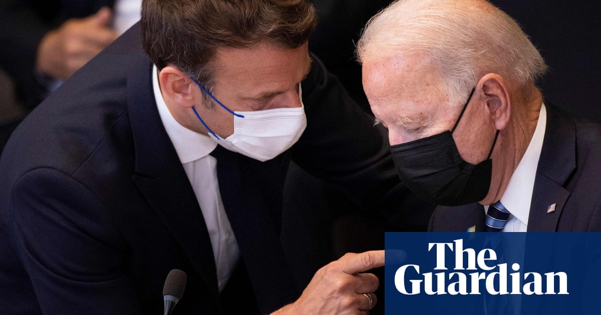 US omits Macron's plea for 'moral responsibility' from record of Biden call