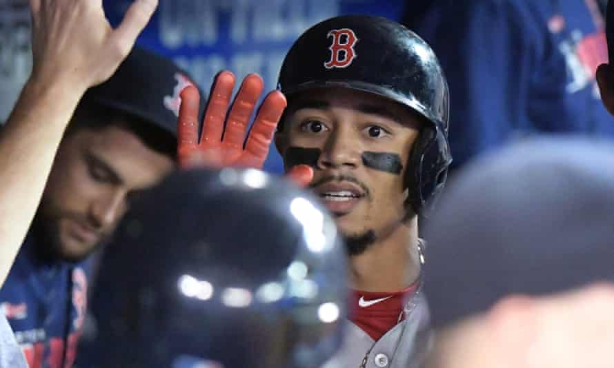 Mookie Betts was a popular figure in Boston, where he was a four-time All Star