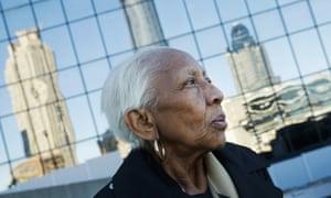 Doris Payne poses for a photo in Atlanta on 11 January 2016.