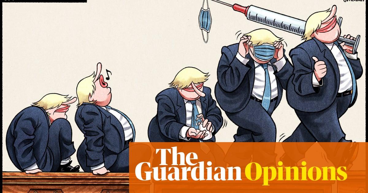 Ben Jennings on the UK's Covid response under Johnson – cartoon