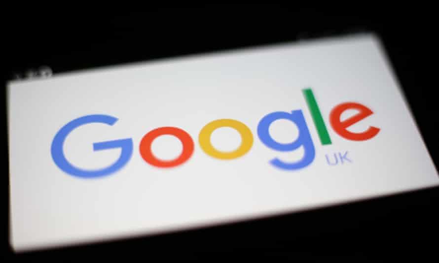 Google UK logo.