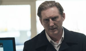 Oh Ted ... Adrian Dunbar as Hastings.