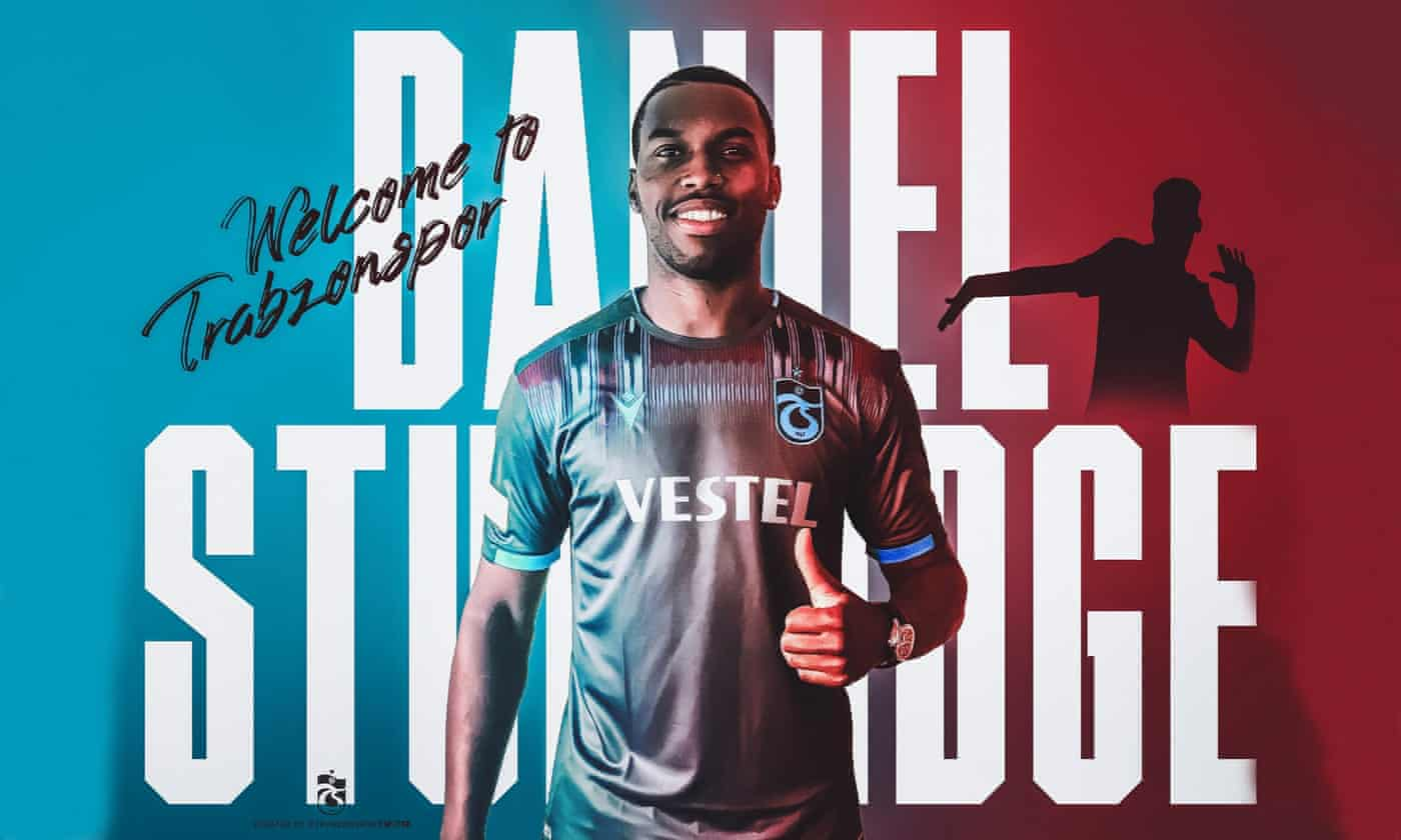 Daniel Sturridge joins Trabzonspor on three-year deal after ban ends