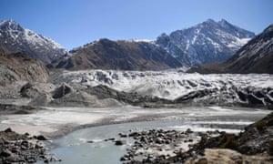 The Chiatibo glacier in the Hindu Kush mountain range.