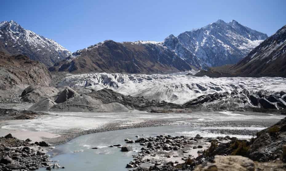 The Chiatibo glacier in the Hindu Kush mountain range.