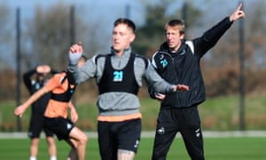 Graham Potter's coaching skills have been tested by Swansea's predicament. 'It's bigger than even I thought,' he says of the challenge.