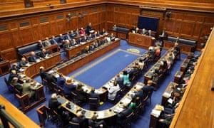 The Northern Ireland assembly.