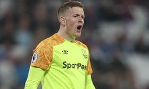 Jordan Pickford has been reminded of his 'duties and obligations' at Everton.