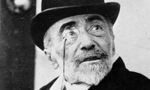 Joseph Conrad in 1923.