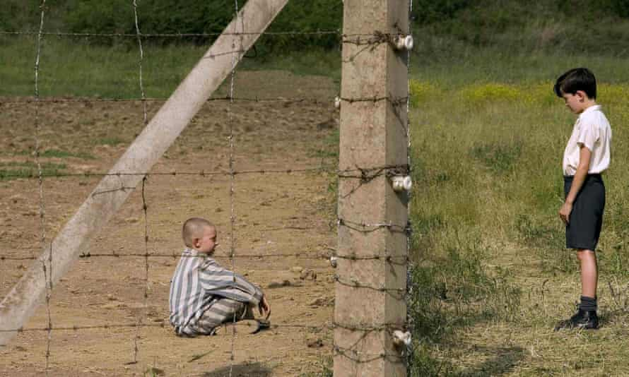 On either side of a fence ... the 2008 film of The Boy in the Striped Pyjamas, directed by Mark Herman.