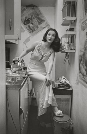 Broadway showgirl Rosemary Williams in 1948