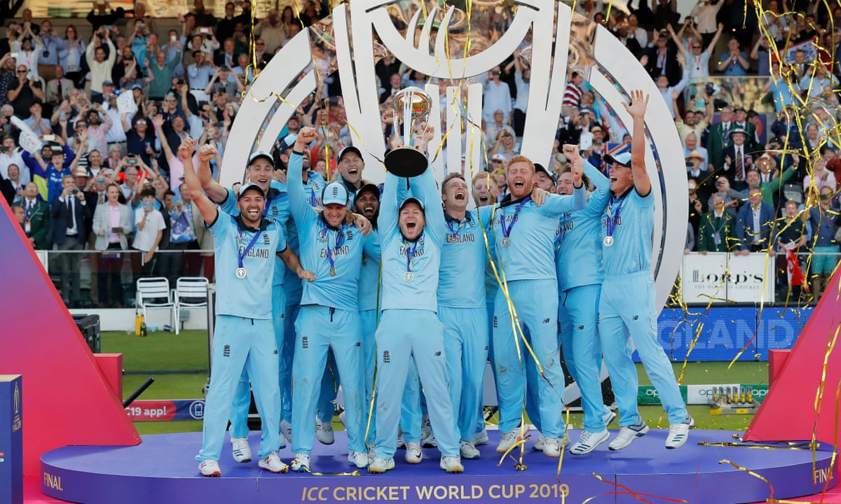 England beat New Zealand in thrilling Cricket World Cup final – as it  happened! | Sport | The Guardian