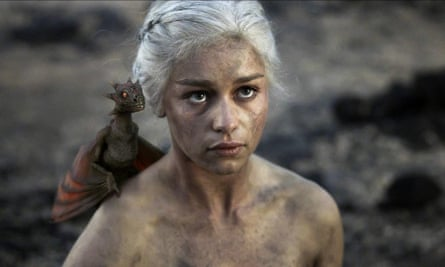 'After the last season, I felt like I had lost all the bones  in my body': Emilia Clarke in Game of Thrones in 2011.
