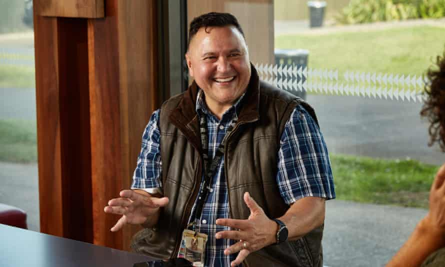 Clinton Edward Hewett at the Te Oro community centre in Glen Innes, Auckland, New Zealand