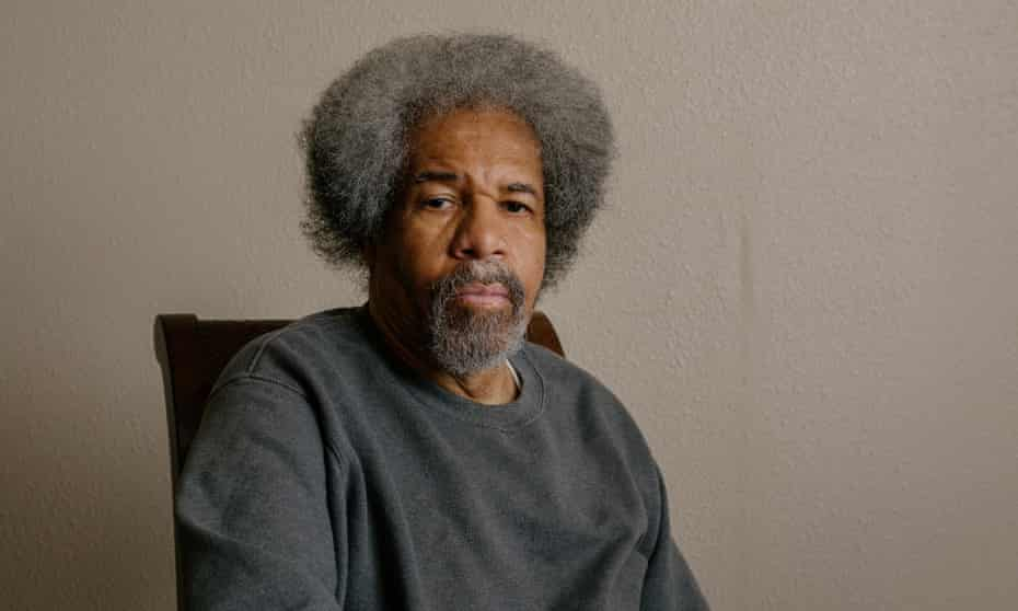 Albert Woodfox at his home in New Orleans, Louisiana. 'Who would have thought that all those years in solitary would have prepared me for living through this pandemic?' he said.