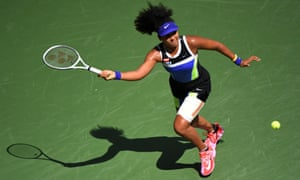 Naomi Osaka said of her youthful opponent: 'I'm kinda scared of how she's gonna be in the future.'