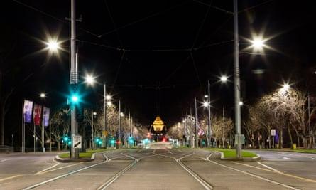 Melbourne curfew