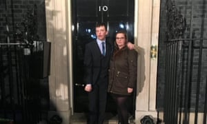 Jack Marshall (pictured with his sister) has lobbied for disabled rights at 10 Downing Street and the House of Commons