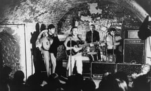 Gerry and the Pacemakers playing in the Cavern club. The Beatles and the acts that followed made the city famous worldwide.