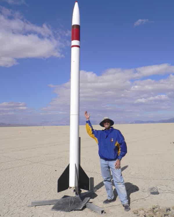 Steve Jurvetson started building experimental rockets when his son was three. He's now 16, and together they build rockets that can exceed the speed of sound.