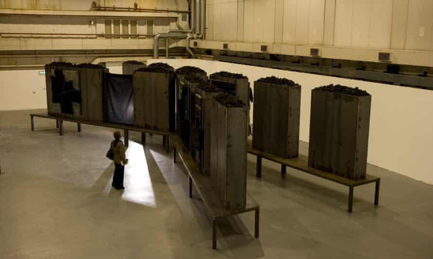 Art Installation by Jannis Kounellis at the Ambika P3 gallery in London, 2010.