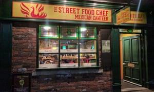 Street Food Chef, Sheffield
