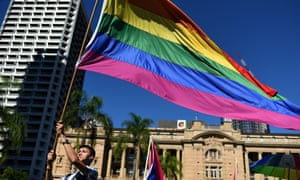 International Day Against Homophobia and Transphobia march in Brisbane 15 May