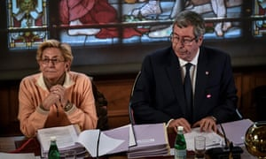 Isabelle and Patrick Balkany