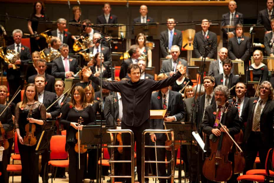 Andris Nelsons with the City of Birmingham Symphony Orchestra.<rgreen@cbso.co.uk><br></rgreen@cbso.co.uk>